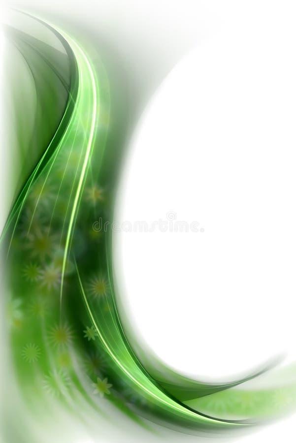 pojęcia kwiatów zielona wiosna przesłona ilustracji