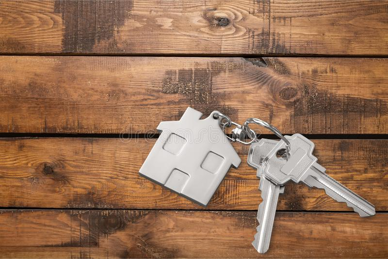 pojęcia nieruchomości domu klucza real fotografia stock
