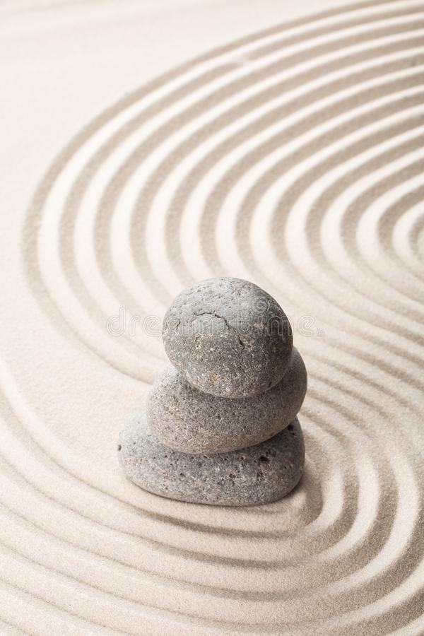 pojęcia piaska kamienia zen obrazy royalty free