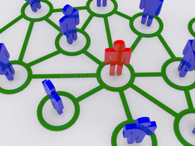 pojęcia projekta ilustracyjny sieci wektor obraz stock