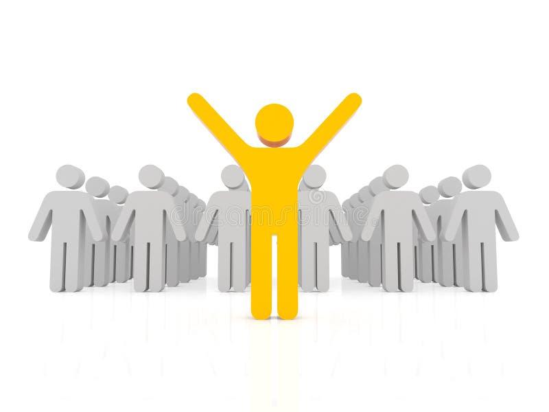 pojęcia przywódctwo ilustracji
