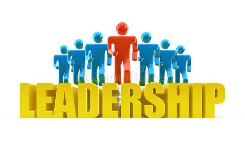 pojęcia przywódctwo royalty ilustracja