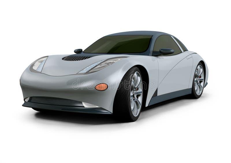 pojęcia samochód projektu 3 d ilustracja wektor