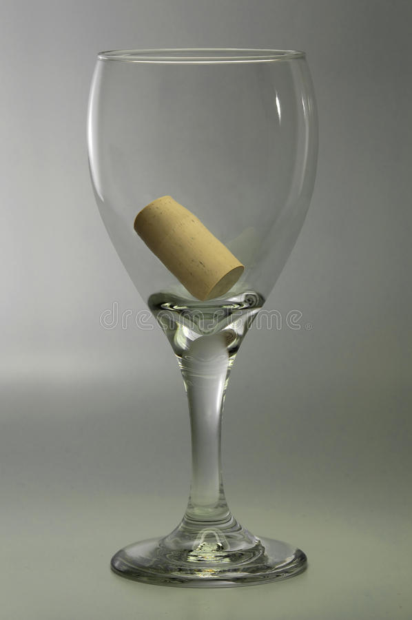 pojęcia szklany satysfakci wino fotografia royalty free