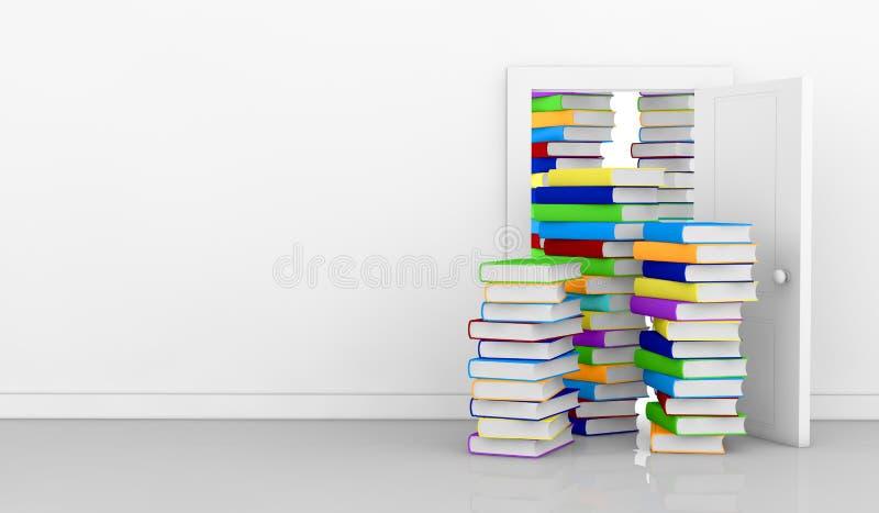pojęcia uczenie czytanie royalty ilustracja
