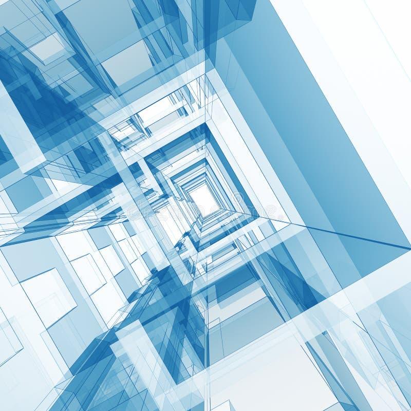 Pojęcia wnętrze ilustracja wektor
