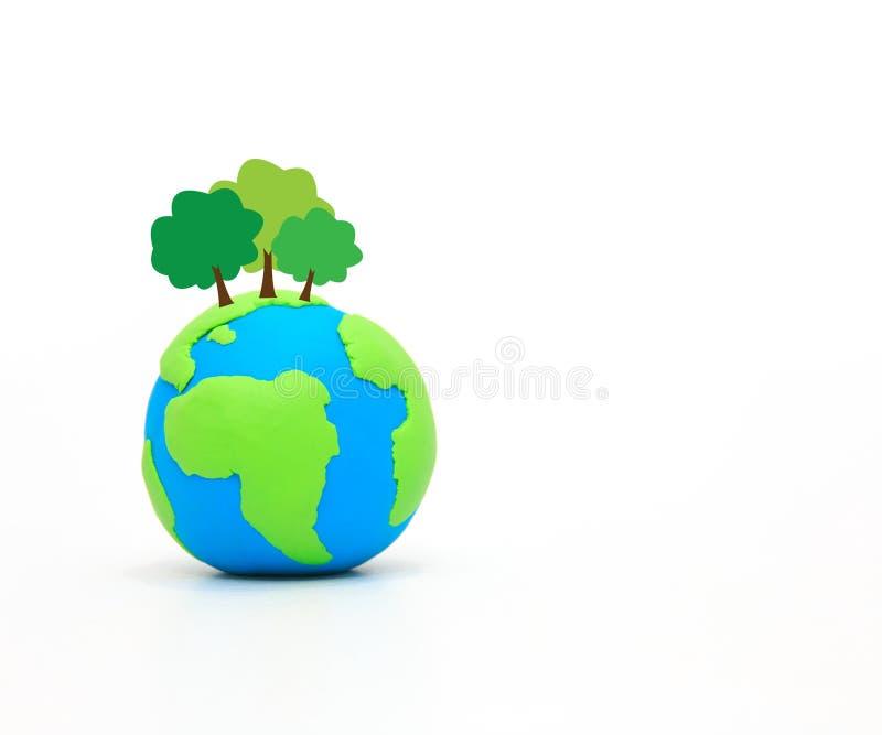 pojęcia zieleni planeta save Pomaga światowi obrazy royalty free