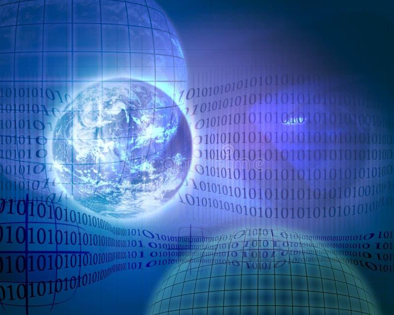 pojęcie 1 technologii royalty ilustracja