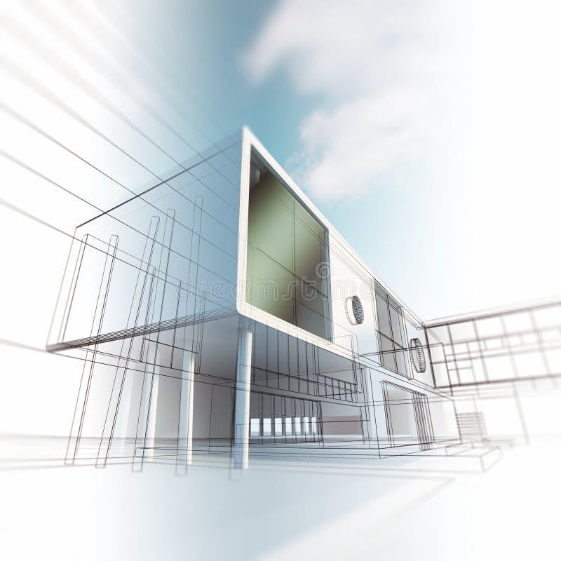 Pojęcie architektura ilustracji