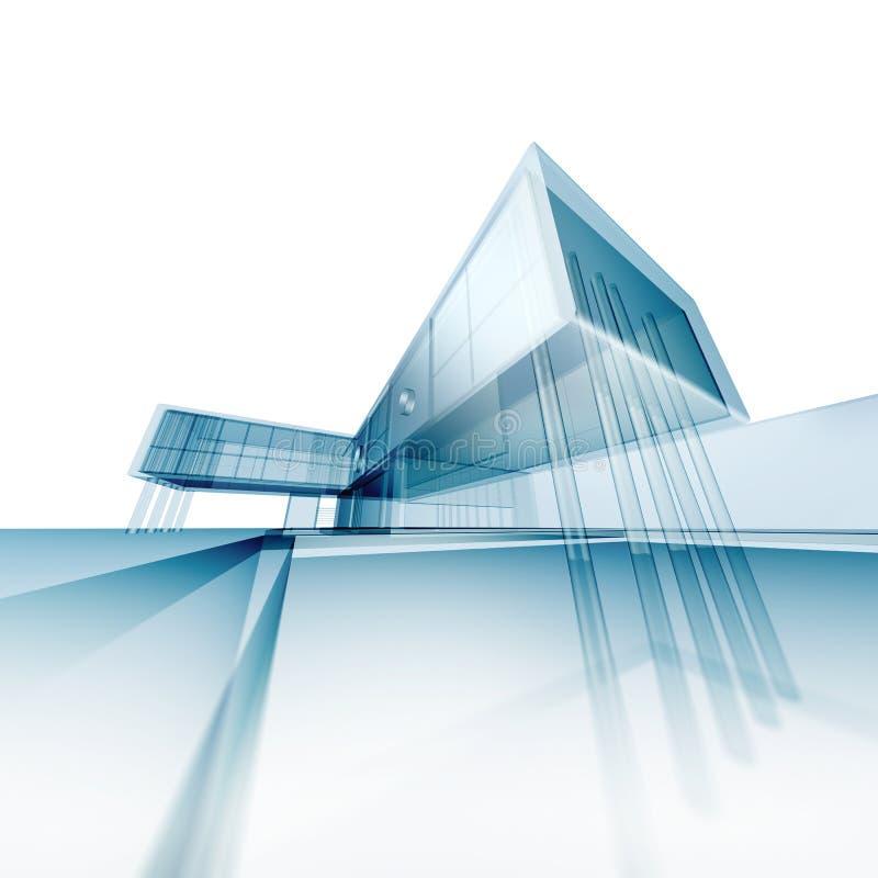 Pojęcie architektury brulionowość ilustracja wektor