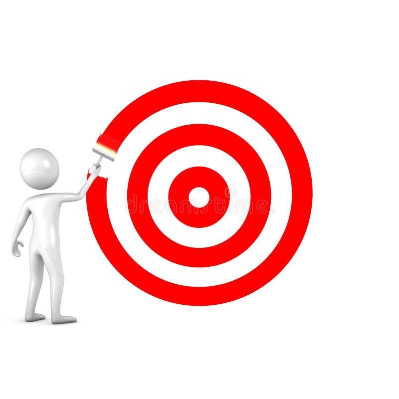 pojęcie biznesowy sukces ilustracja wektor