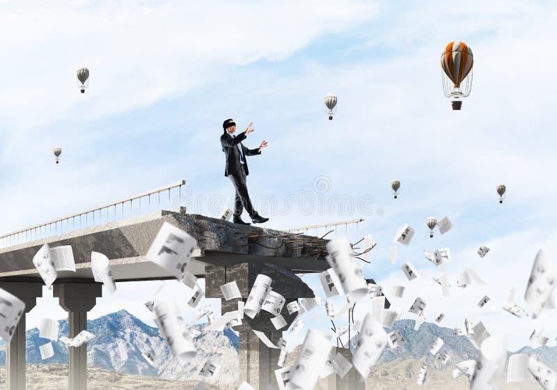Pojęcie chowani ryzyko i niebezpieczeństwa obraz stock
