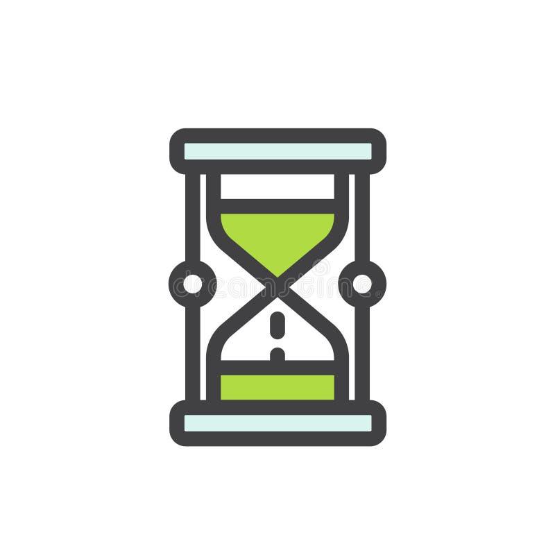 Pojęcie cierpliwość, ostateczny termin i ograniczenie, ilustracja wektor
