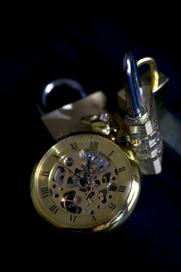 Pojęcie czas i ochrona zdjęcia royalty free