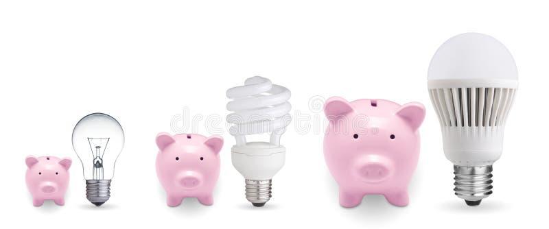 Pojęcie dla ratować pieniądze obrazy stock
