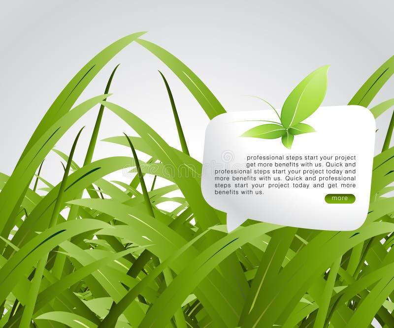 pojęcie ekologia ilustracja wektor