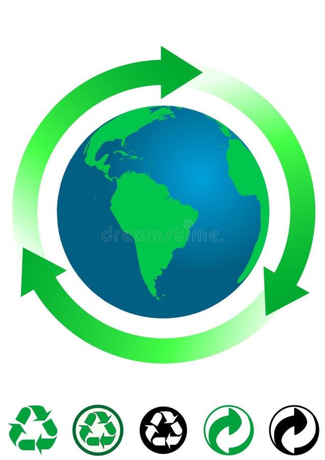 pojęcie ekologiczny ilustracji