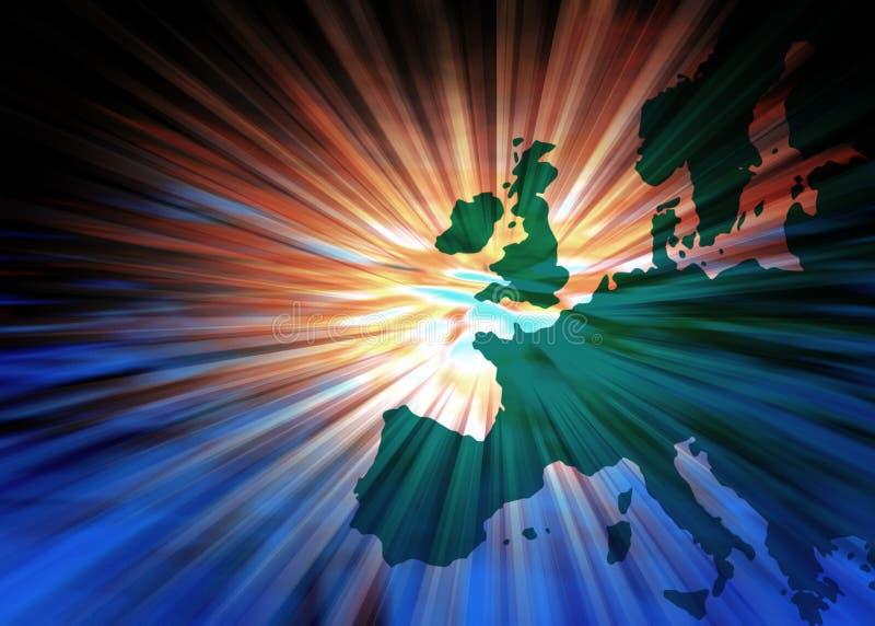 pojęcie Europe ilustracji