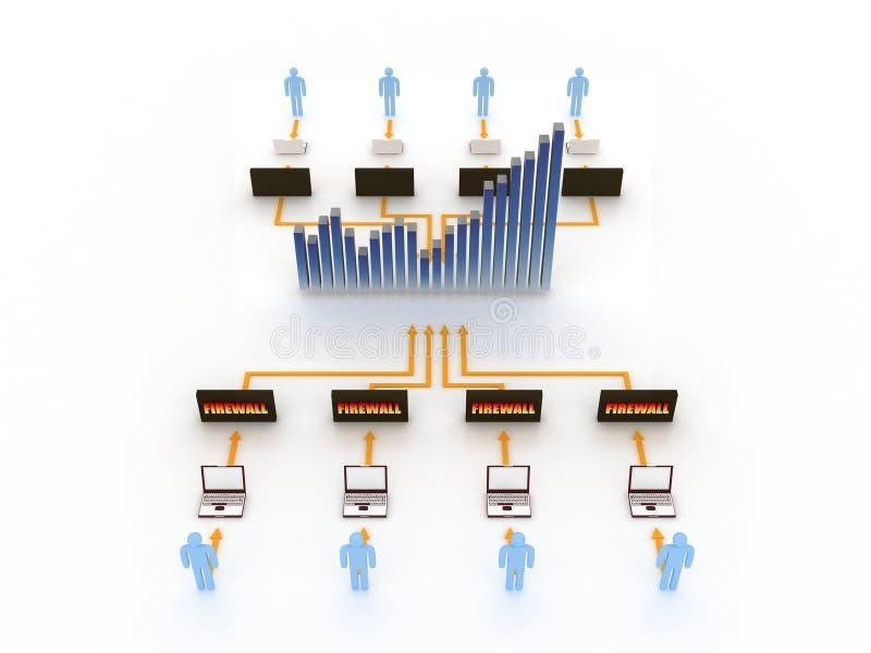 pojęcie internety ilustracji