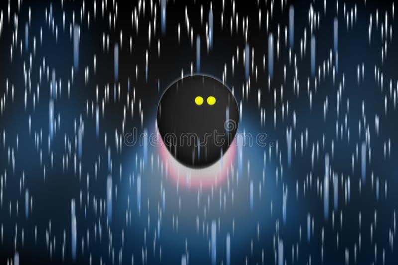 Pojęcie kabaczek piłki latanie przez początków jak kometa fotografia royalty free