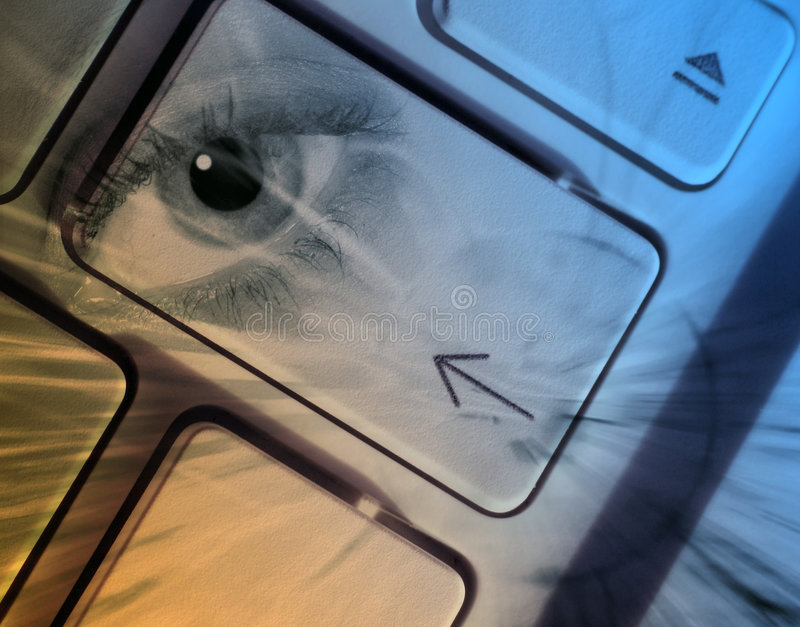pojęcie komputerowa ochrona ilustracji