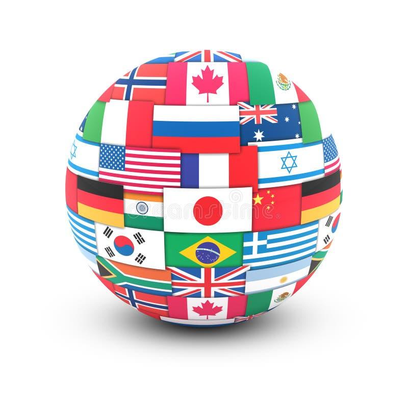 pojęcie komunikacyjny zawody międzynarodowe royalty ilustracja