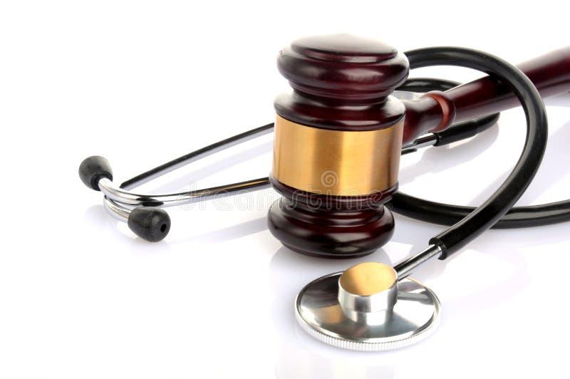 Pojęcie medyczna sprawa sądowa obrazy royalty free