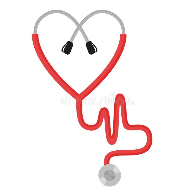 Pojęcie miłość w medycynie zdjęcie stock