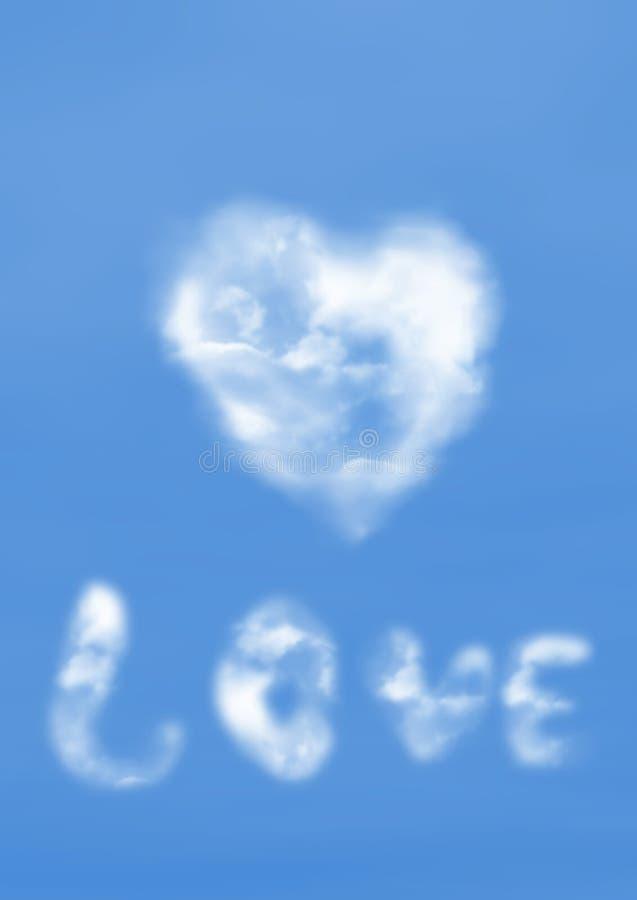 pojęcie miłości royalty ilustracja