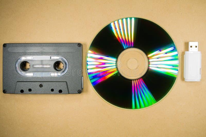 Pojęcie muzyczna ewolucja obraz royalty free