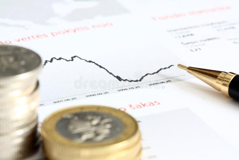 pojęcie pieniężny fotografia stock