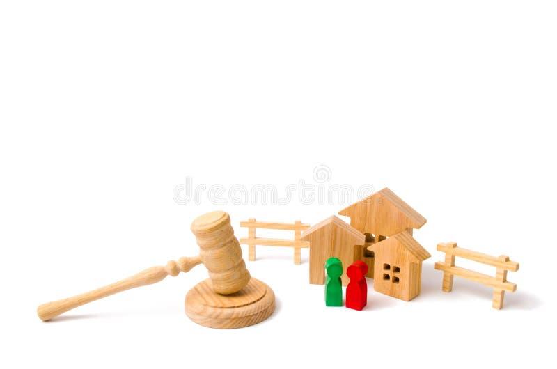 Pojęcie prawa i przepisy dla dzierźawców i właścicieli zdjęcia stock