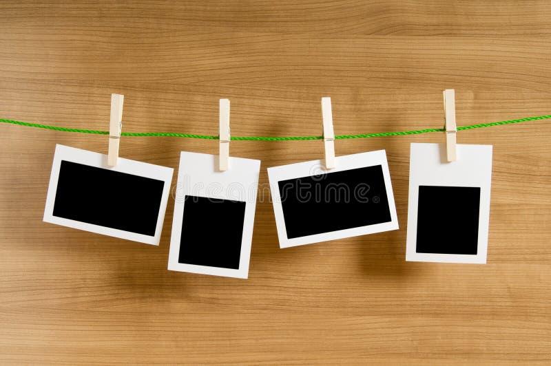 pojęcie pusty projektant obramia fotografię fotografia stock
