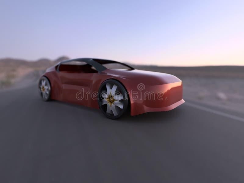 Pojęcie samochód obraz royalty free