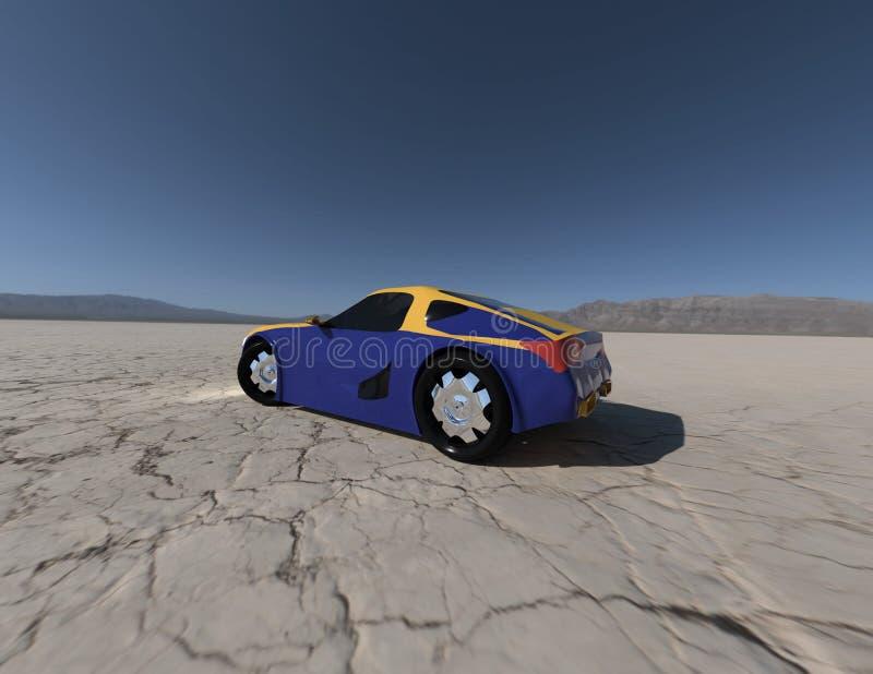 Pojęcie samochodowy rendering 5 fotografia royalty free