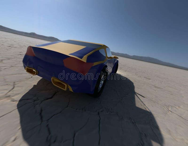 Pojęcie samochodowy rendering 2 obrazy stock