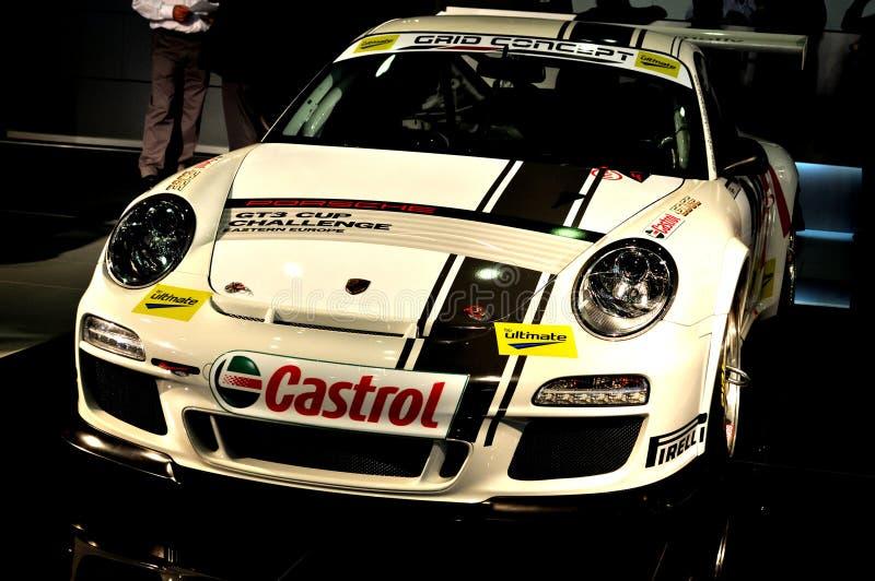 pojęcie siatka gt3 Porsche zdjęcie royalty free