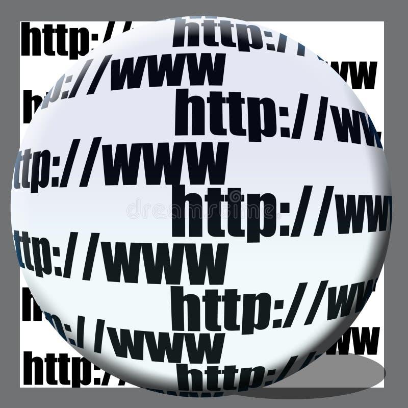 pojęcie sieć ilustracji