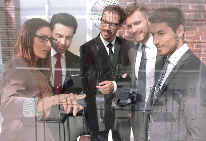 Pojęcie spotkanie dla ludzi biznesu fotografia royalty free