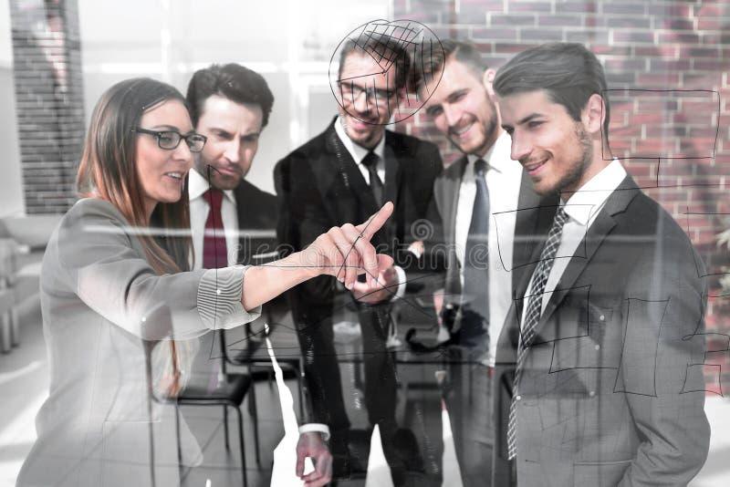 Pojęcie spotkanie dla ludzi biznesu zdjęcie royalty free
