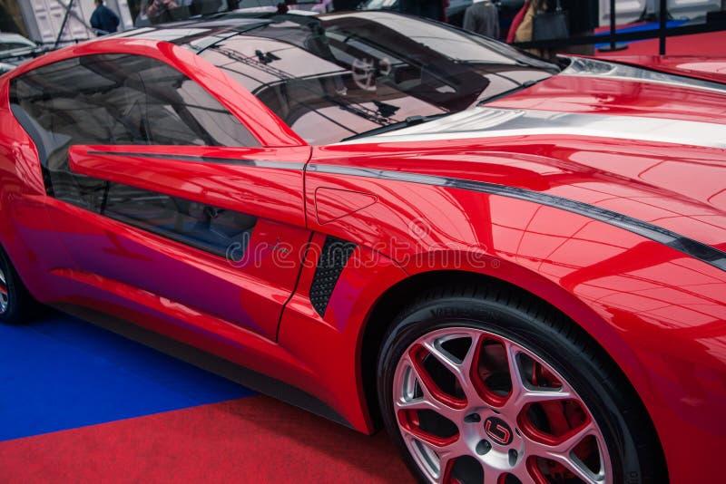Download Pojęcie Samochodowy ITALDESIGNâGIUGIARO Brivido Fotografia Editorial - Obraz złożonej z symbol, elektryczny: 28973467