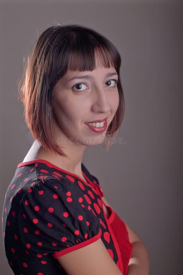 pojawienie dziewczyna piękna europejska zdjęcia stock
