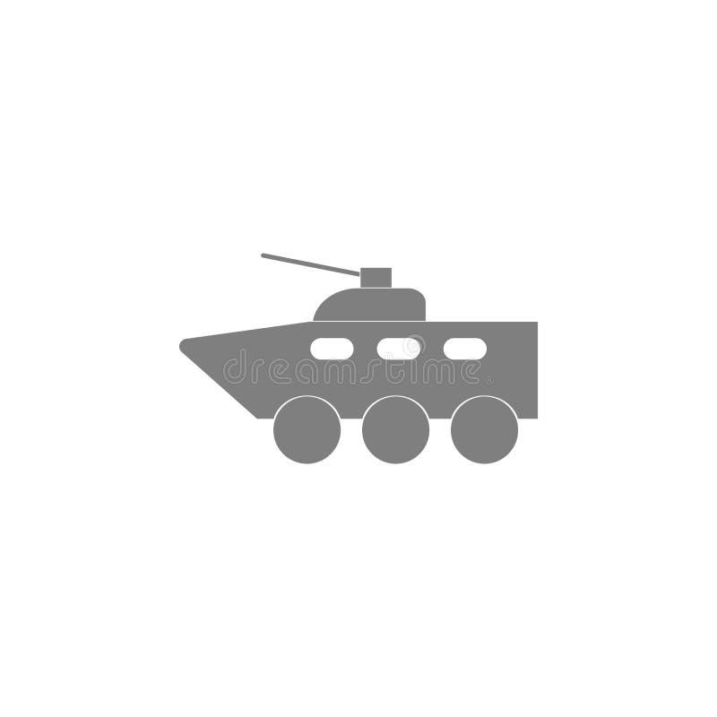 Pojazd pancerny ikona ilustracji