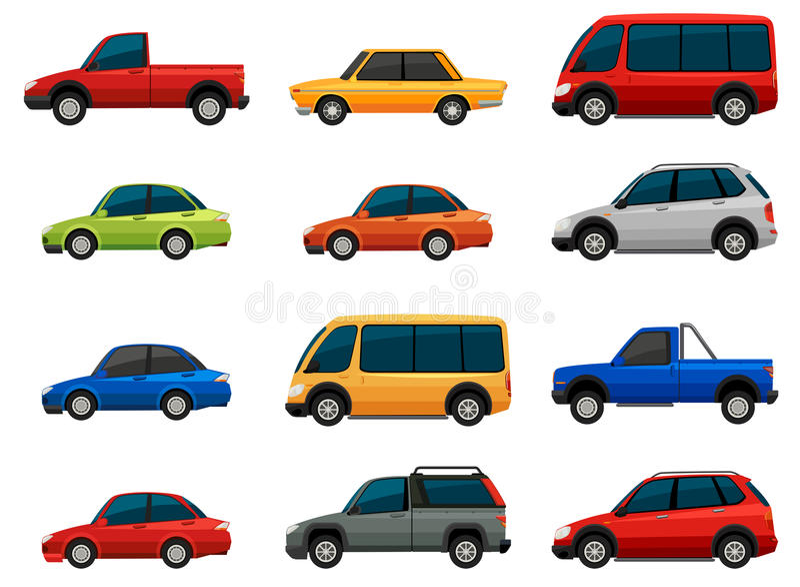 pojazdy ilustracji