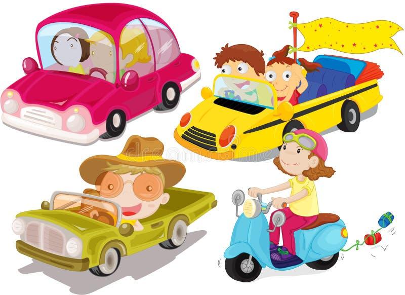 pojazdy ilustracja wektor