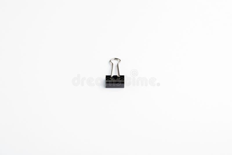 Pojedyncza buldog klamerka na Białym tle fotografia royalty free