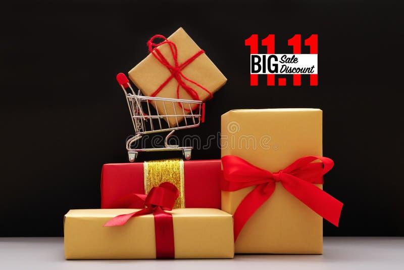 11 pojedynczego dnia sprzedaży pojęcie zdjęcie stock
