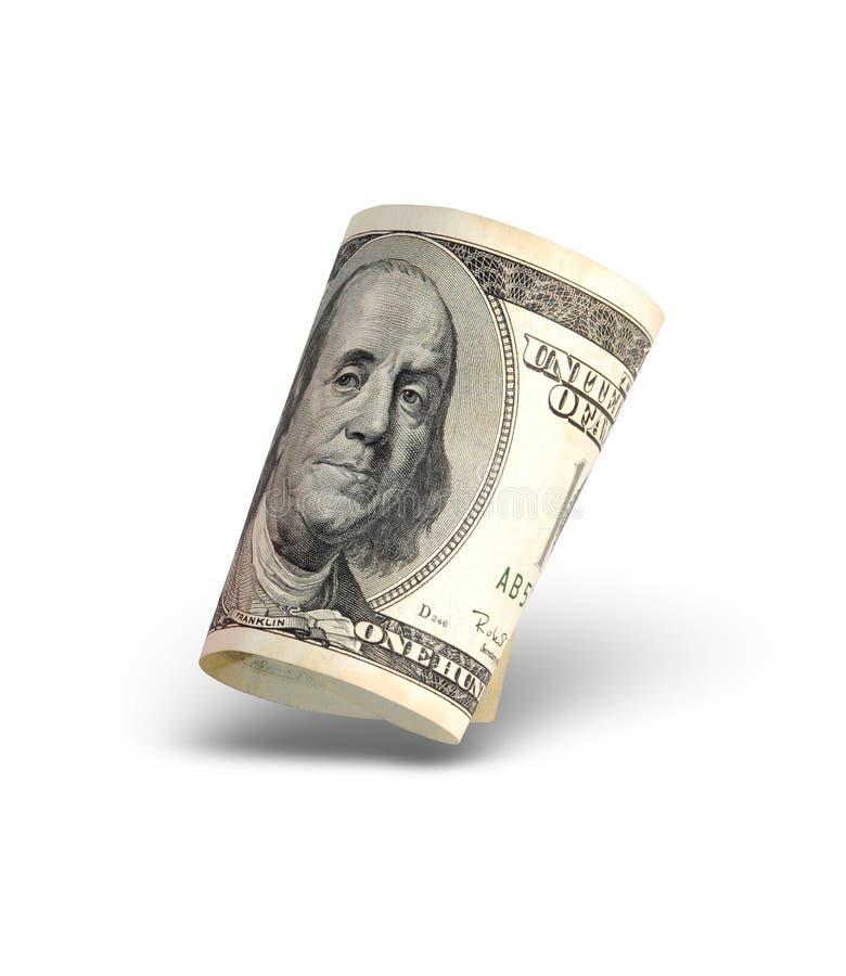 pojedynczy amerykańskich pieniędzy obrazy stock