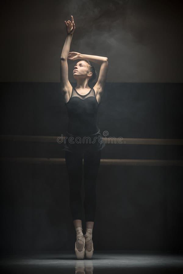 Pojedynczy baletniczy tancerz obraz stock