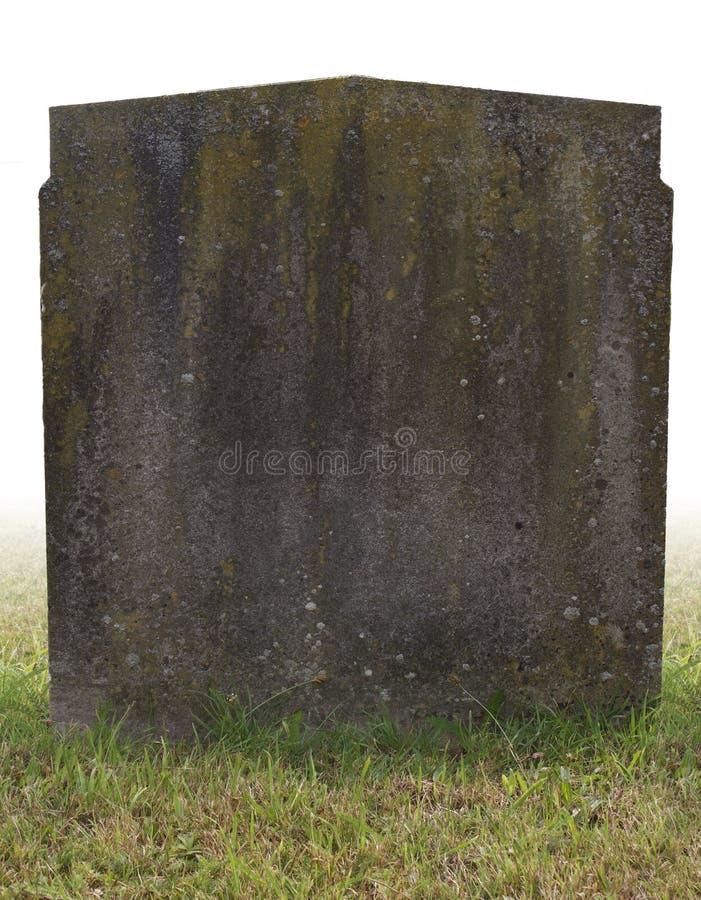 pojedynczy grób kamień obrazy stock